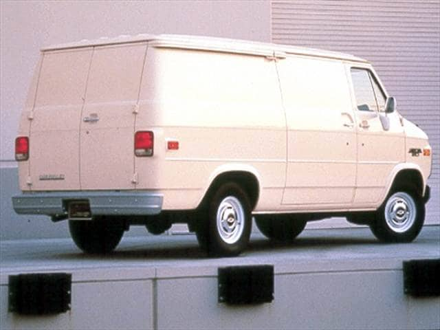 Most Popular Vans/Minivans of 1993 - 1993 Chevrolet G-Series G20