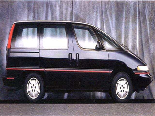 Most Fuel Efficient Vans/Minivans of 1993 - 1993 Chevrolet Lumina APV