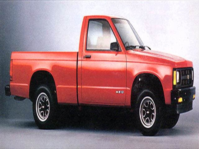 Most Fuel Efficient Trucks of 1993 - 1993 Chevrolet S10 Regular Cab