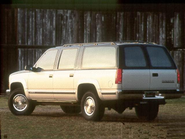 Top Consumer Rated SUVs of 1993 - 1993 Chevrolet Suburban 1500