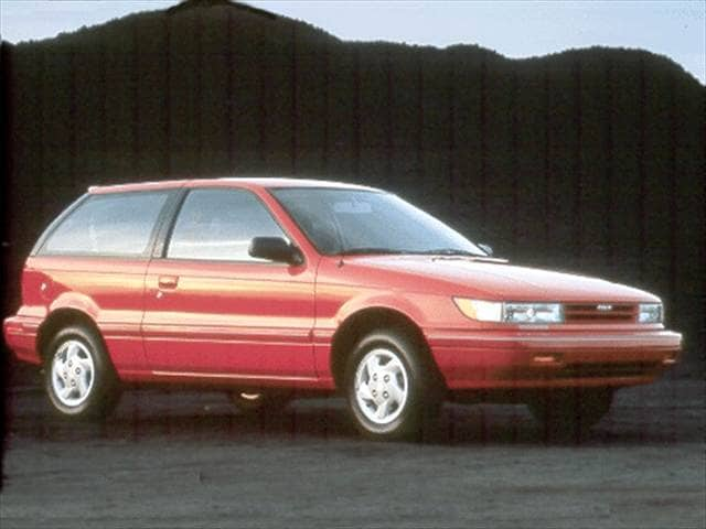 Most Fuel Efficient Sedans of 1993 - 1993 Dodge Colt