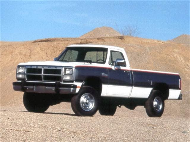 Highest Horsepower Trucks of 1993 - 1993 Dodge D350 Regular Cab