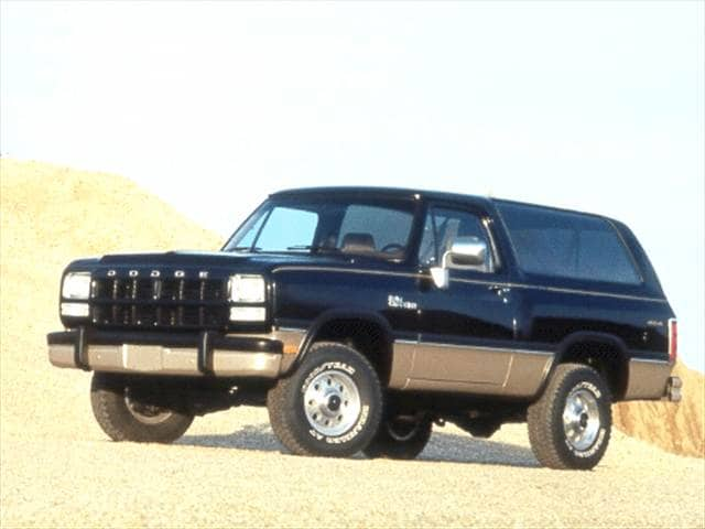 Highest Horsepower SUVs of 1993 - 1993 Dodge Ramcharger