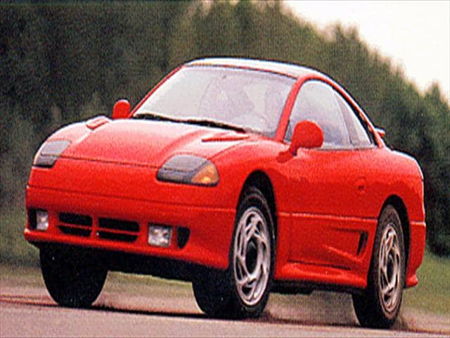 Highest Horsepower Hatchbacks of 1993 - 1993 Dodge Stealth