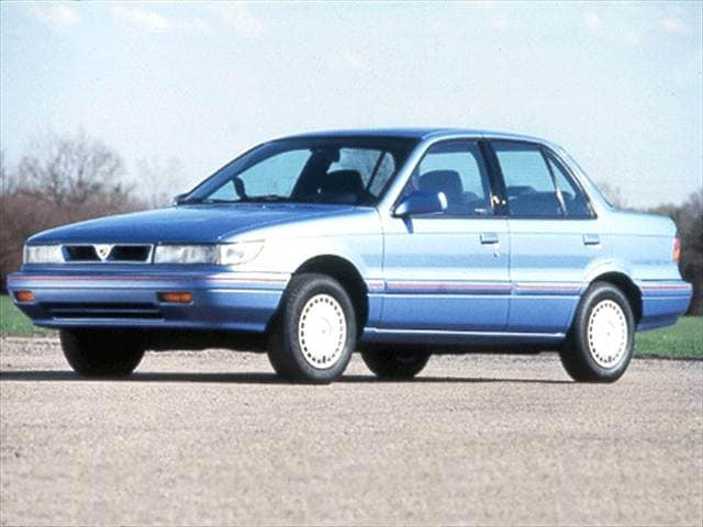 Most Fuel Efficient Sedans of 1993 - 1993 Eagle Summit