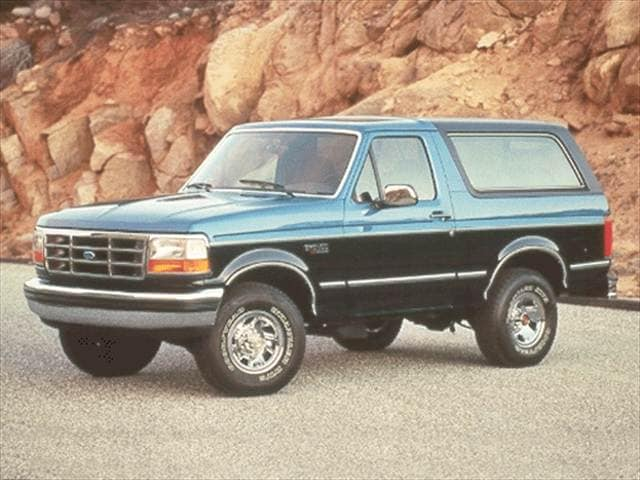 Most Popular SUVs of 1993 - 1993 Ford Bronco