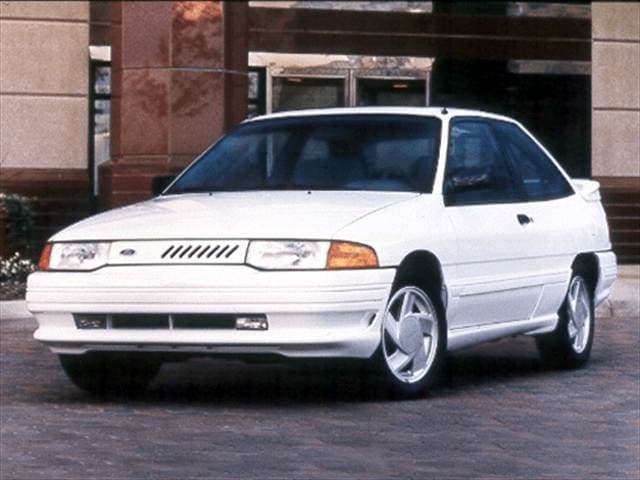 Most Popular Coupes of 1993 - 1993 Ford Escort
