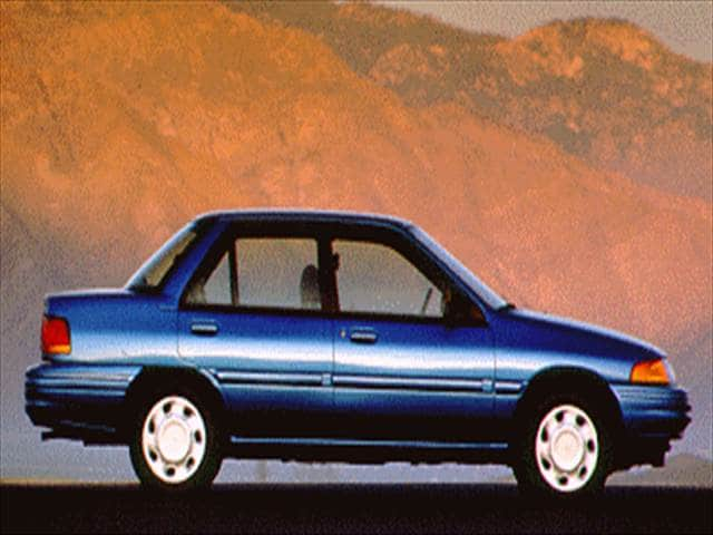 Most Fuel Efficient Sedans of 1993 - 1993 Ford Escort