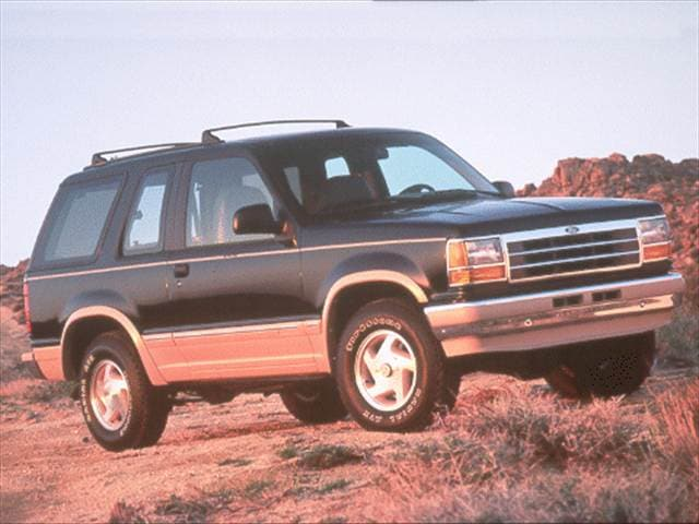 Most Fuel Efficient SUVs of 1993 - 1993 Ford Explorer