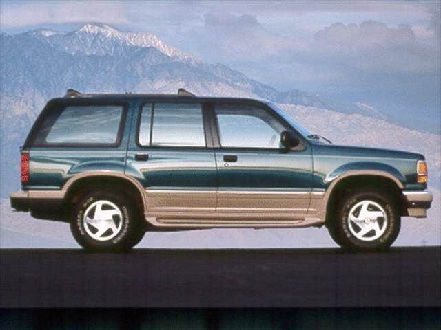 Most Popular SUVs of 1993 - 1993 Ford Explorer