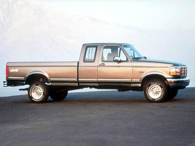 Most Popular Trucks of 1993 - 1993 Ford F150 Super Cab