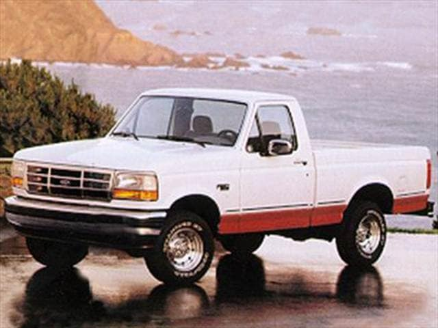 Top Consumer Rated Trucks of 1993 - 1993 Ford F250 Regular Cab
