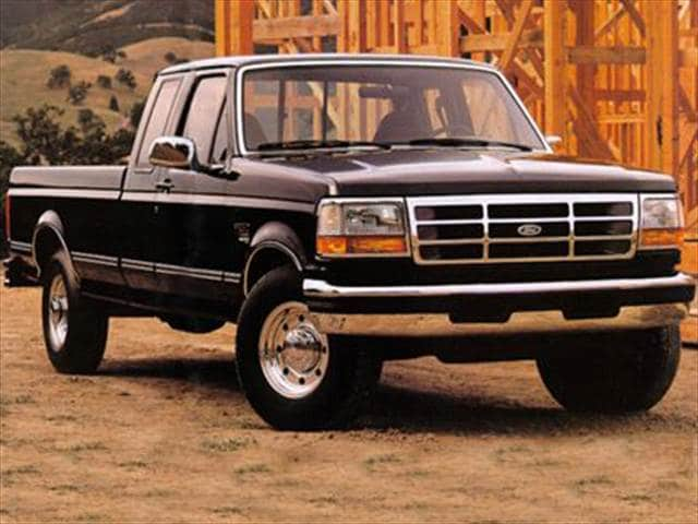 Top Consumer Rated Trucks of 1993 - 1993 Ford F250 Super Cab
