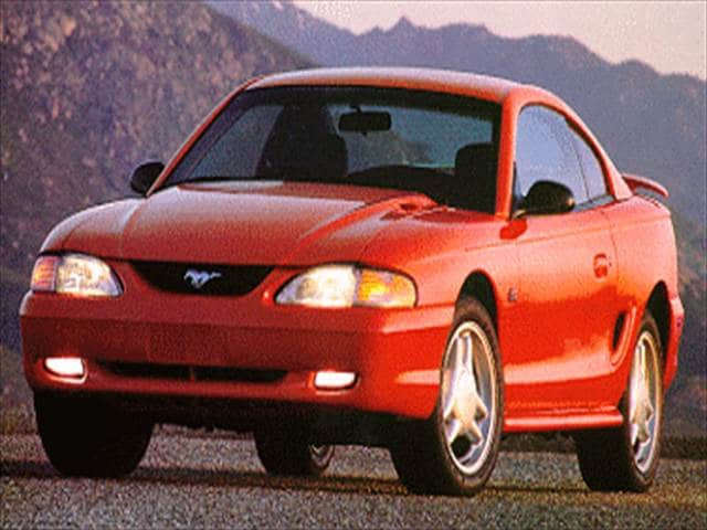 Most Popular Hatchbacks of 1993 - 1993 Ford Mustang