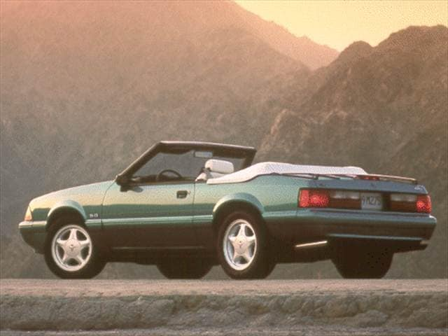 Most Popular Convertibles of 1993 - 1993 Ford Mustang