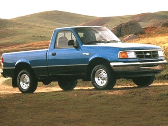 Most Fuel Efficient Trucks of 1993 - 1993 Ford Ranger Regular Cab