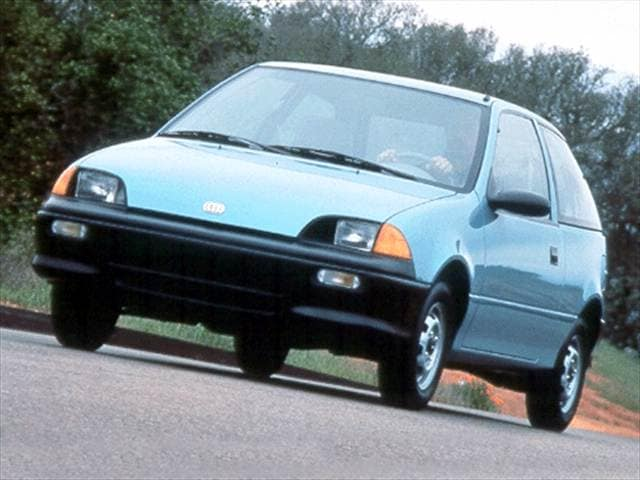 Most Fuel Efficient Coupes of 1993 - 1993 Geo Metro