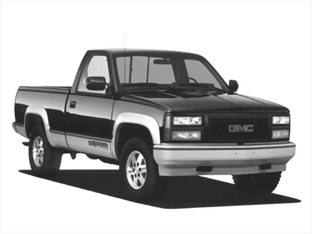 Top Consumer Rated Trucks of 1993 - 1993 GMC 2500 Regular Cab