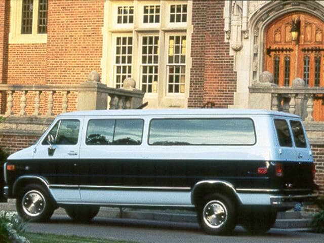Highest Horsepower Vans/Minivans of 1993 - 1993 GMC Rally Wagon 2500