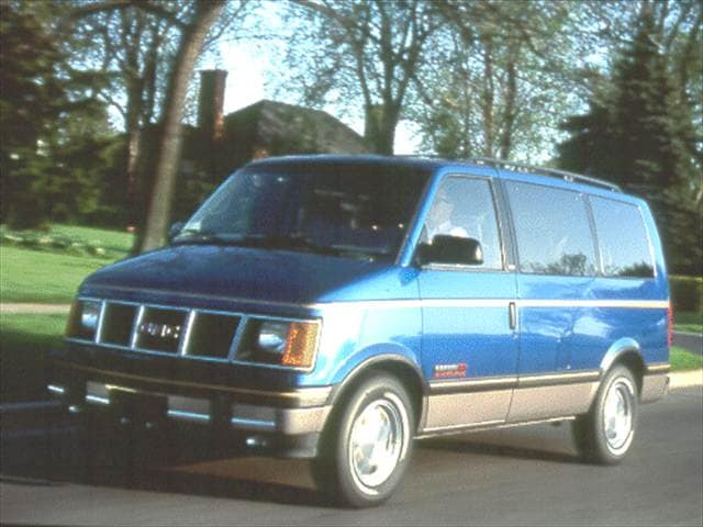 Top Consumer Rated Vans/Minivans of 1993 - 1993 GMC Safari Passenger