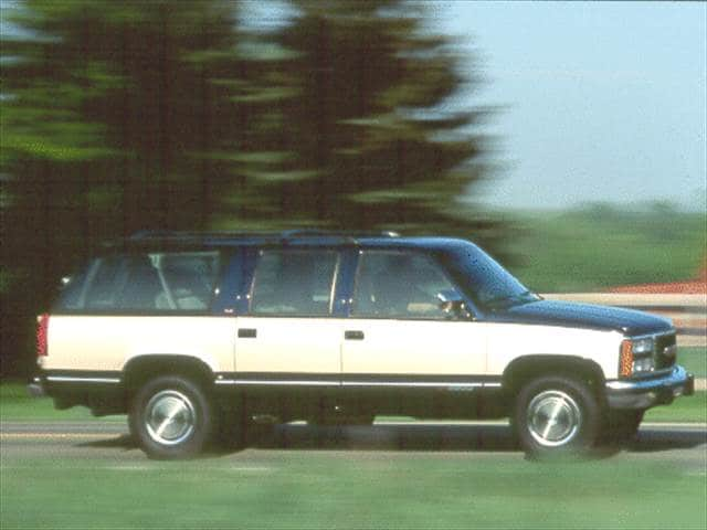 Top Consumer Rated SUVs of 1993 - 1993 GMC Suburban 2500