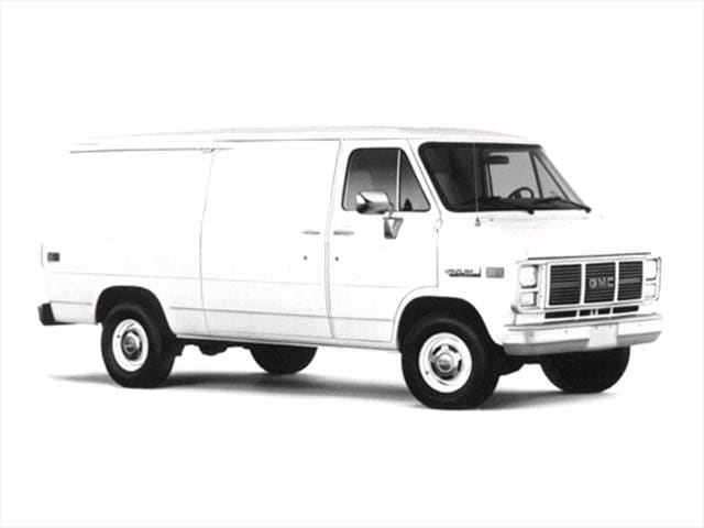 Top Consumer Rated Vans/Minivans of 1993 - 1993 GMC Vandura 3500