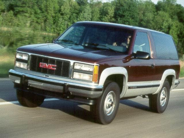 Highest Horsepower SUVs of 1993 - 1993 GMC Yukon