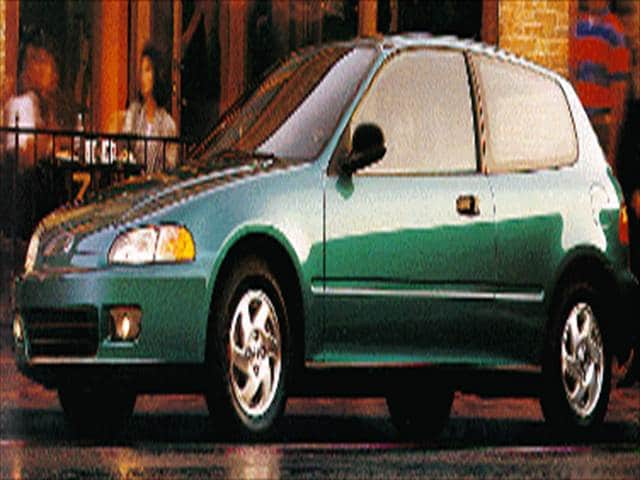 Most Popular Hatchbacks of 1993 - 1993 Honda Civic