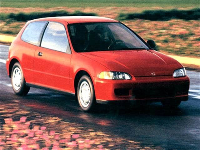 Most Fuel Efficient Coupes of 1993 - 1993 Honda Civic