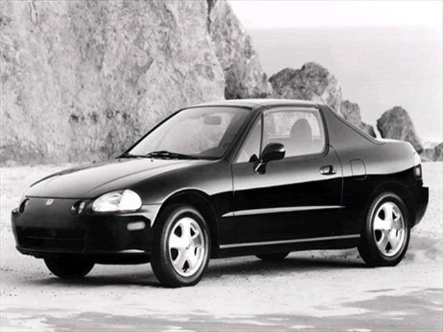 Top Consumer Rated Coupes of 1993 - 1993 Honda del Sol