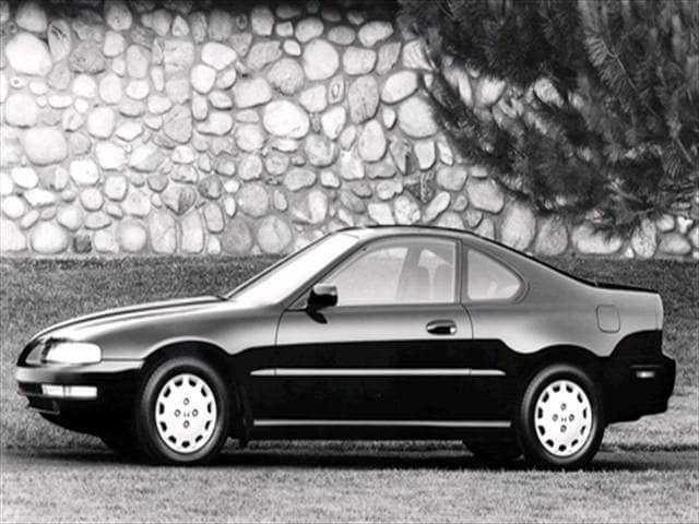 Top Consumer Rated Coupes of 1993 - 1993 Honda Prelude