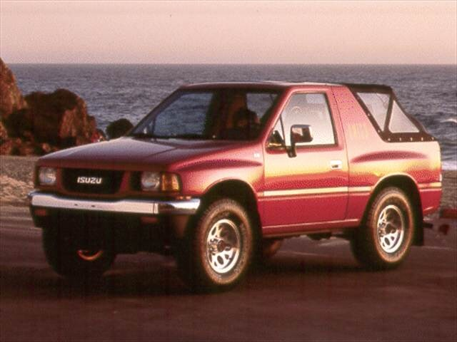 Most Fuel Efficient SUVs of 1993 - 1993 Isuzu Amigo