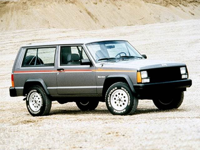 Most Fuel Efficient SUVs of 1993 - 1993 Jeep Cherokee
