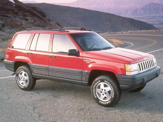 Most Popular SUVs of 1993 - 1993 Jeep Grand Cherokee