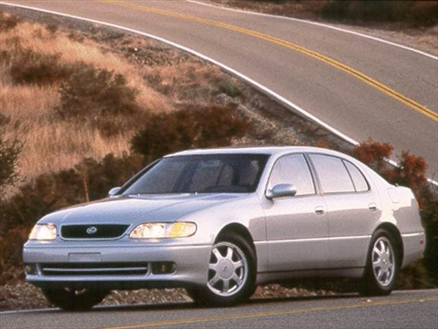 Top Consumer Rated Luxury Vehicles of 1993 - 1993 Lexus GS
