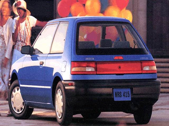 Most Fuel Efficient Hatchbacks of 1993 - 1993 Mazda 323