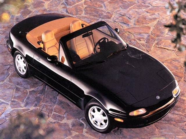 Most Fuel Efficient Convertibles of 1993 - 1993 Mazda MX-5 Miata