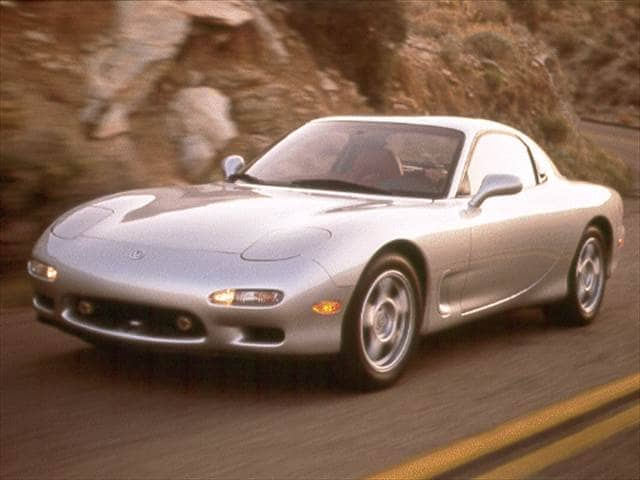 Top Consumer Rated Hatchbacks of 1993 - 1993 Mazda RX-7