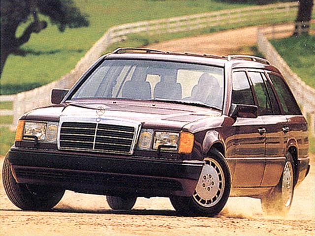 Highest Horsepower Wagons of 1993 - 1993 Mercedes-Benz 300TE