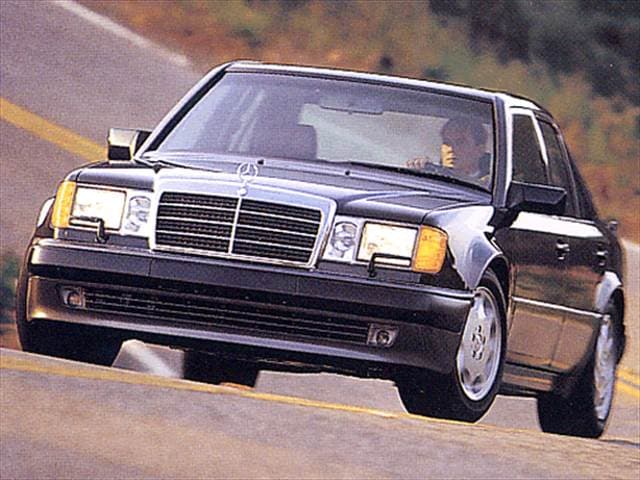Highest Horsepower Sedans of 1993 - 1993 Mercedes-Benz 500E