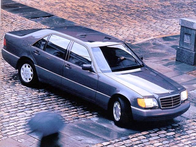 Highest Horsepower Luxury Vehicles of 1993 - 1993 Mercedes-Benz 500SEL