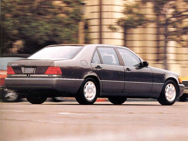 Highest Horsepower Luxury Vehicles of 1993 - 1993 Mercedes-Benz 600 SEL