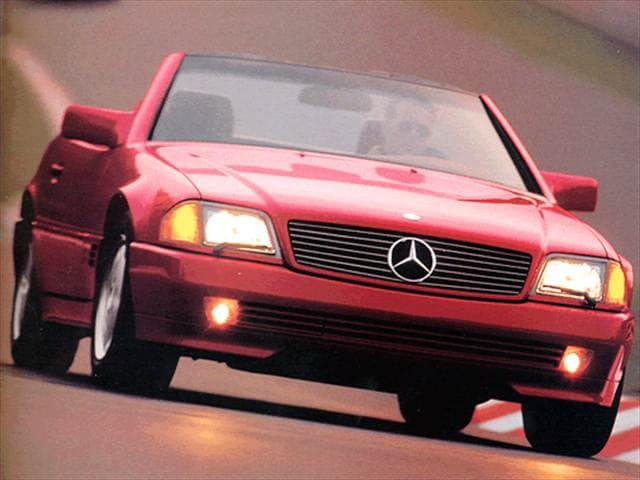 Top Consumer Rated Convertibles of 1993 - 1993 Mercedes-Benz 600 SL