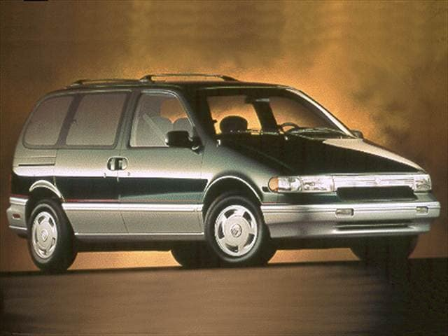 Top Consumer Rated Vans/Minivans of 1993 - 1993 Mercury Villager