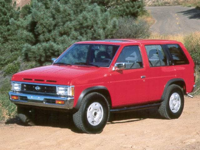 Most Fuel Efficient SUVs of 1993 - 1993 Nissan Pathfinder
