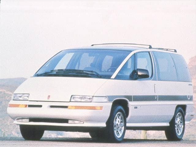 Most Fuel Efficient Vans/Minivans of 1993 - 1993 Oldsmobile Silhouette