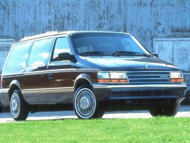 Most Fuel Efficient Vans/Minivans of 1993 - 1993 Plymouth Grand Voyager