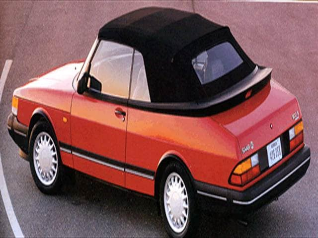 Top Consumer Rated Convertibles of 1993 - 1993 Saab 900