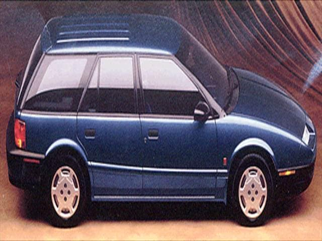 Most Fuel Efficient Wagons of 1993 - 1993 Saturn S-Series
