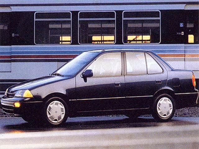 Most Fuel Efficient Sedans of 1993 - 1993 Suzuki Swift